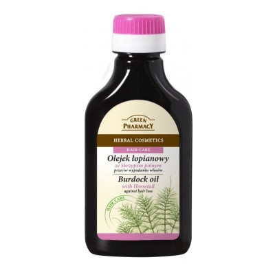 Green Pharmacy Horsetail Burdock Oil Hair Loss 100 ml