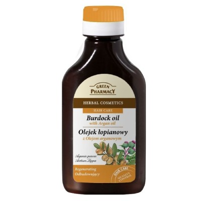 Green Pharmacy Argan Burdock Oil 100 ml