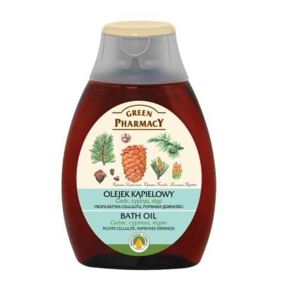 Green Pharmacy Cedar, Cypress & Algae Bath Oil 250 ml