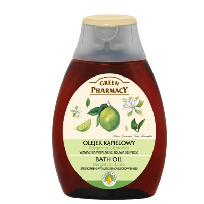 Green Pharmacy Bergamot & Lime Bath Oil 250 ml