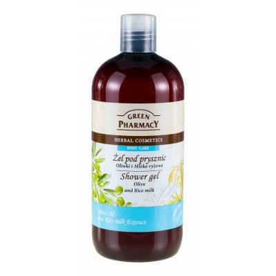 Green Pharmacy Olive & Rice Milk Shower Gel 500 ml