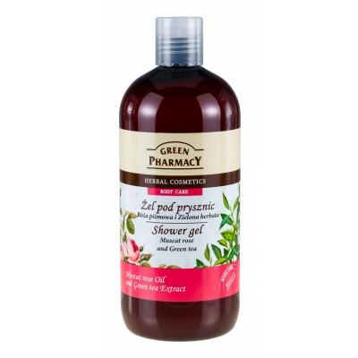 Green Pharmacy Muscat Rose & Green Tea Shower Gel 500 ml