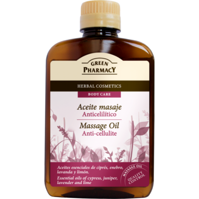 Green Pharmacy Anti-Cellulite Massage Oil 200 ml