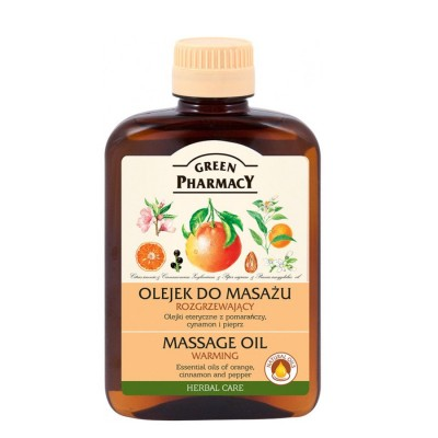 Green Pharmacy Warming Massage Oil 200 ml
