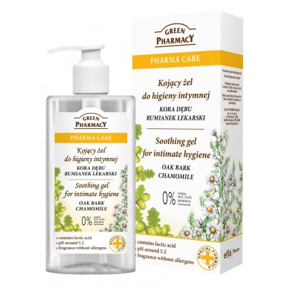 Green Pharmacy Oak Bark & Chamomile Intimate Soothing Gel 300 ml