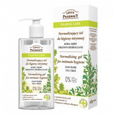 Green Pharmacy Oak Bark & Tea Tree Intimate Gel 300 ml