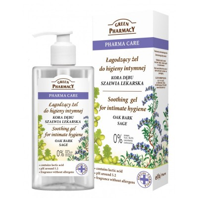 Green Pharmacy Oak Bark & Sage Intimate Gel 300 ml