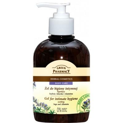 Green Pharmacy Sage & Allantoin Soothing Intimate Gel 370 ml