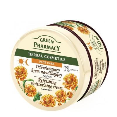 Green Pharmacy Calendula Refreshing Moisturizing Cream 150 ml