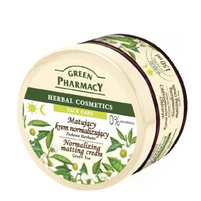 Green Pharmacy Green Tea Normalizing Matting Cream 150 ml