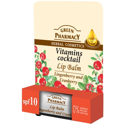 Green Pharmacy Vitamins Cocktail Lip Balm 4,8 g