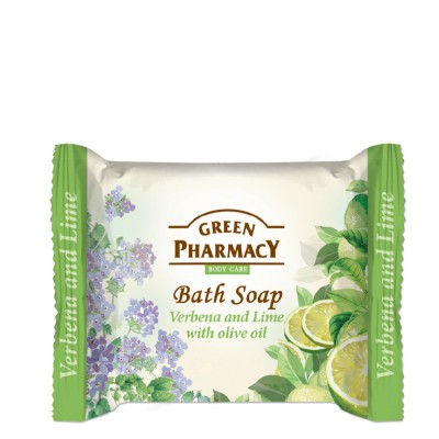 Green Pharmacy Verbena & Lime Bath Soap 100 g