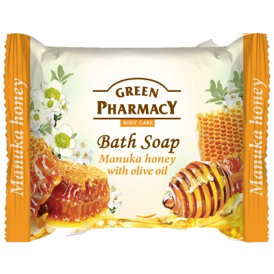 Green Pharmacy Manuka Honey Bath Soap 100 g