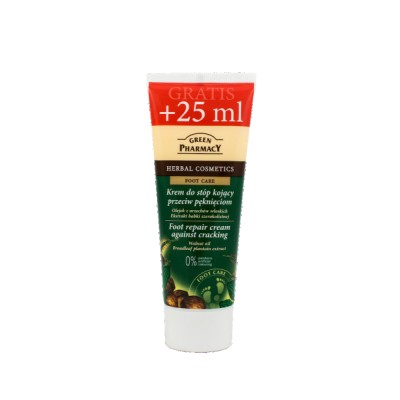 Green Pharmacy Foot Repair Cream Against Cracking 75 ml