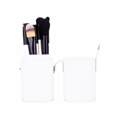 Basics Makeup Brush Set White 12 st