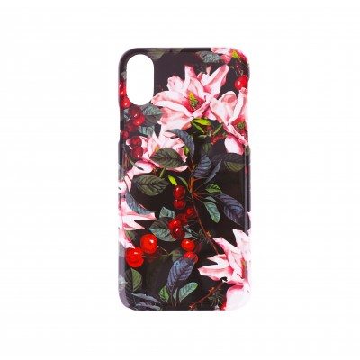 BasicsMobile Flower Bomb iPhone X/XS Plus Cover iPhone X/XS