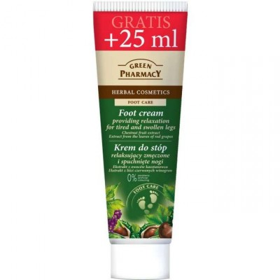 Green Pharmacy Foot Cream Tired & Swollen Legs 75 ml