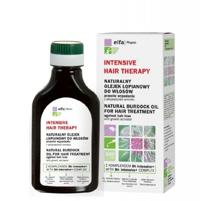Elfa Pharm Natural Burdock Oil Hair Treatment Hair Loss 100 ml