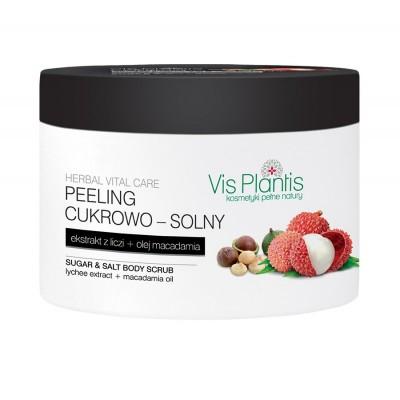Vis Plantis Herbal Vital Care Lychee Body Scrub 200 ml