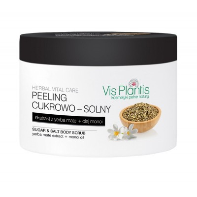 Vis Plantis Herbal Vital Care Yerba Mate Body Scrub 200 ml