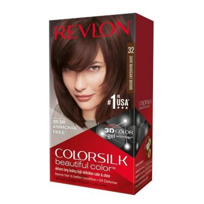 Revlon Colorsilk Permanent Haircolor 32 Dark Mahogany Brown 1 stk