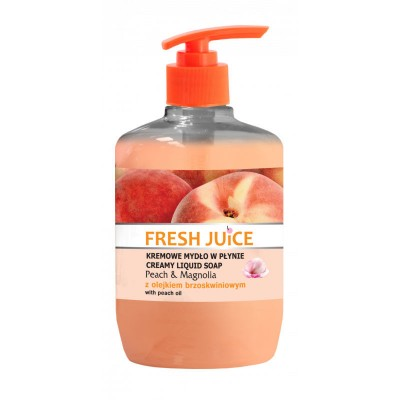 Fresh Juice Peach & Magnolia Liquid Soap 460 ml