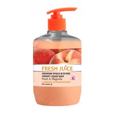Fresh Juice Peach & Magnolia Liquid Soap 460 ml