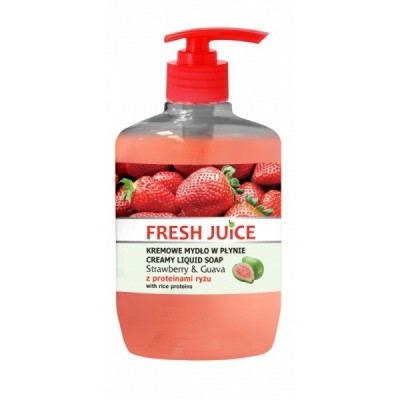 Fresh Juice Strawberry & Guava Liquid Soap 460 ml