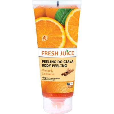Fresh Juice Orange & Cinnamon Body Scrub 200 ml