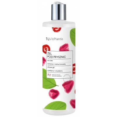 Vis Plantis Cranberry & Cloudberry Shower Gel 400 ml