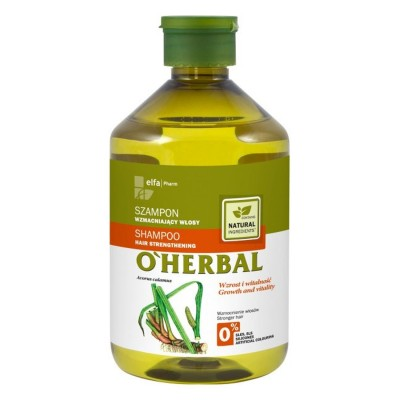 O'Herbal Hair Strengthening Calamus Root Extract Shampoo 500 ml