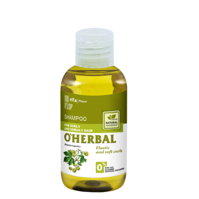 O'Herbal Curly & Unruly Hops Extract Shampoo 75 ml
