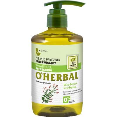 O'Herbal Refreshing Shower Gel Verbena Extract 750 ml