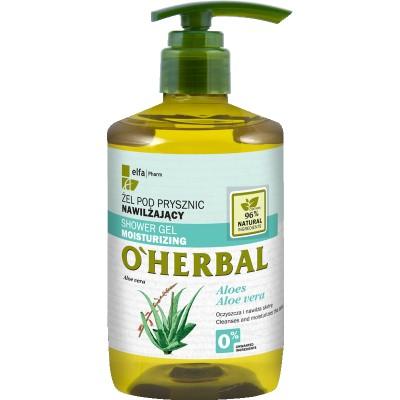 O'Herbal Moisturizing Shower Gel Aloe Vera Extract 750 ml