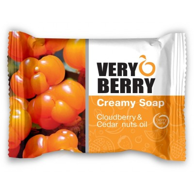 Very Berry Cloudberry & Cedar Nuts Oil Creamy Soap 100 G