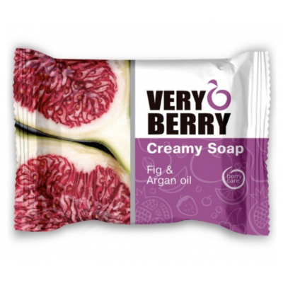 Very Berry Fig & Argan Oil Creamy Soap 100 g