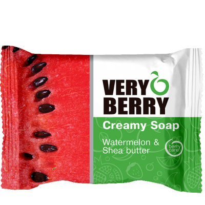 Very Berry Watermelon & Shea Butter Creamy Soap 100 g