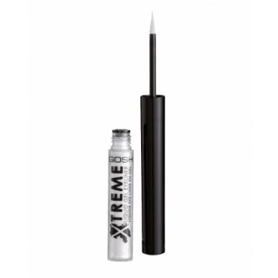 GOSH Xtreme Liquid Gel Eyeliner 004 Silver 1,7 ml
