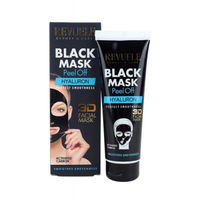 Revuele Black Mask Peel Off Hyaluron 80 ml