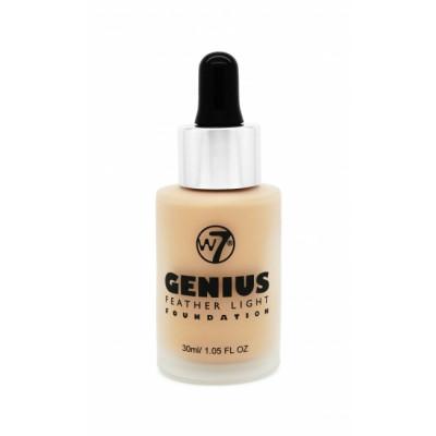 W7 Genius Foundation Fresh Beige 30 ml