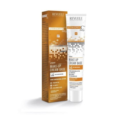 Revuele Vitanorm C+ Energy Make-Up Cream Base Light 50 ml