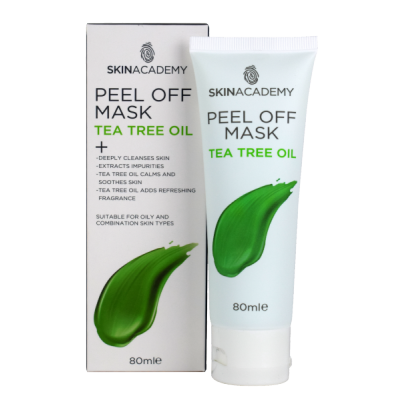 Skin Academy Peel Off Mask Tea Tree Oil 80 ml