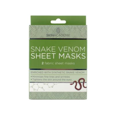 Skin Academy Snake Venom Sheet Masks 2 kpl