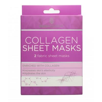 Skin Academy Collagen Sheet Masks 2 kpl