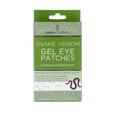 Skin Academy Snake Venom Gel Eye Patches 4 par