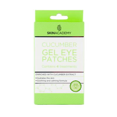 Skin Academy Cucumber Gel Eye Patches 4 paria