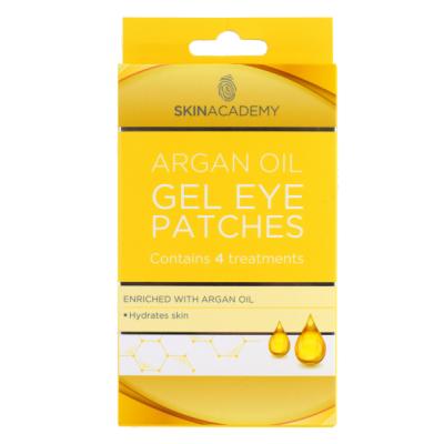 Skin Academy Argan Oil Gel Eye Patches 4 paria