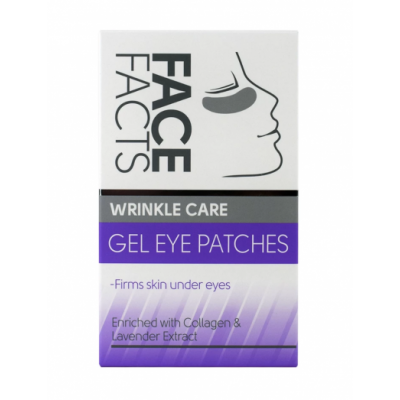 Face Facts Wrinkle Care Gel Eye Patches 4 paria