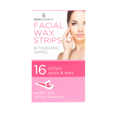 Skin Academy Facial Wax Strips 16 stk