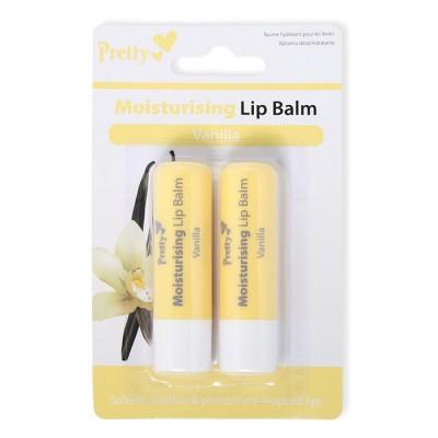 Pretty Moisturising Lip Balm Vanilla 2 x 4,3 g